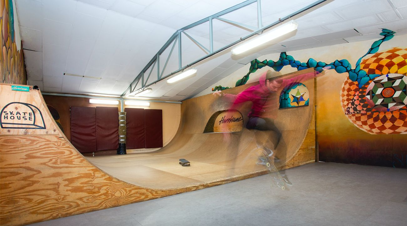 Hurricane skate house 2015-2018, Madrid