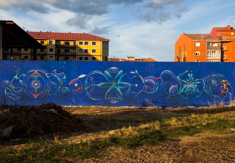 Nature Flow. Festival arte urbano Artaerorap, La Bañeza 2019